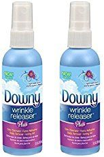 Downy wrinkle releaser for your formal outfit on cruise elegant evening and other cruise outfits. No iron, no problem! DIY! ;) Get rid of wrinkles with a spray for wrinkle-free clothes or darn close! So make sure to put it on your cruise packing list! Cruise tips for your beach vacation or Caribbean vacation, cruise hacks. #cruise #cruisetips #traveltips