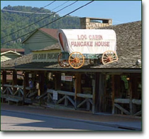 the log cabin pancake house gatlinburg tn -serves one of the best breakfast plates around