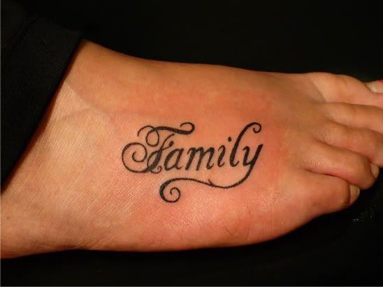 Family Tattoos, Tattoos, Feet Tattoos