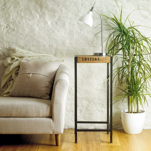 Beautiful Reclaimed Urban Chic Tall Lamp Table - Shop Now. – Chattels