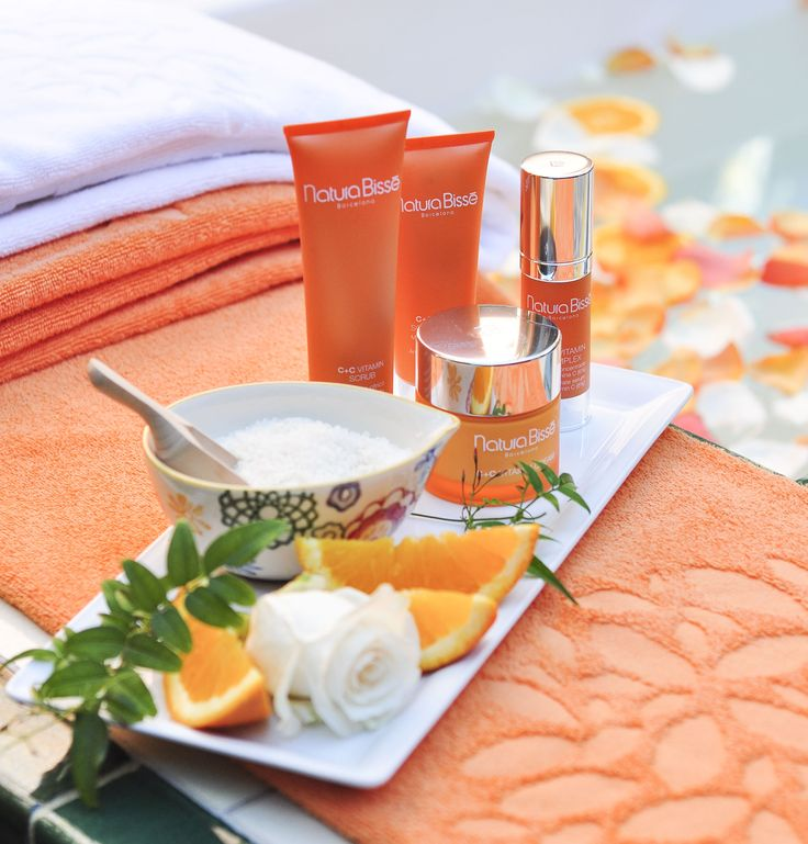 Natura Bissé at The Spa at Rancho Valencia #naturabisse #ranchovalencia #orange #citrus