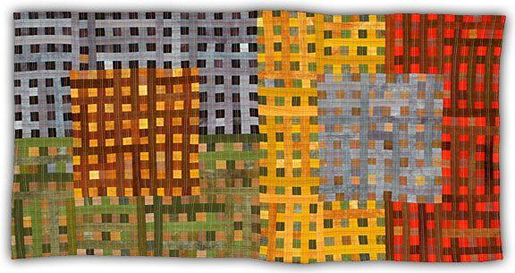 Eleanor McCain - Art Quilts: Galleries - Grid Series