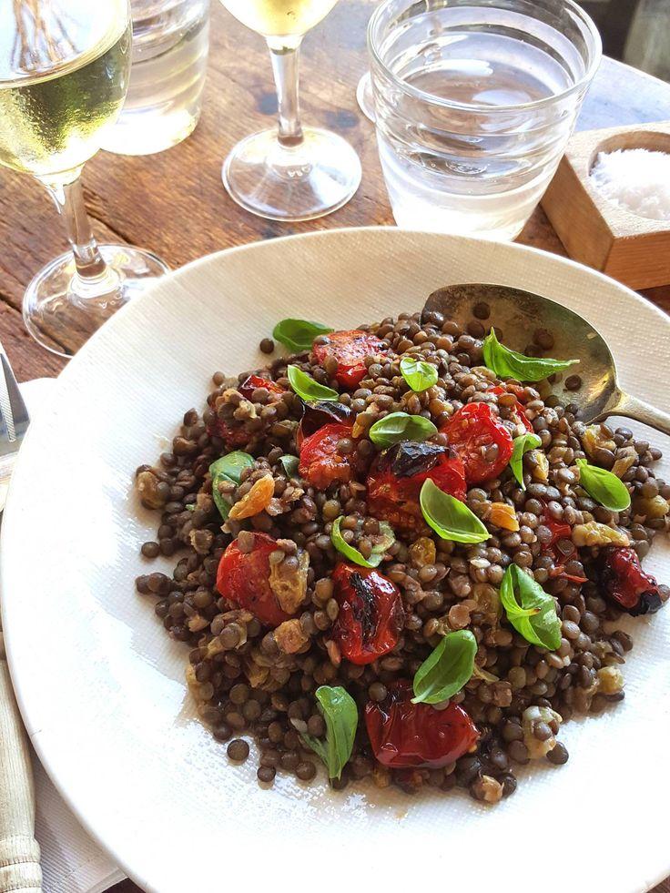 Lentil Salad with Raisins