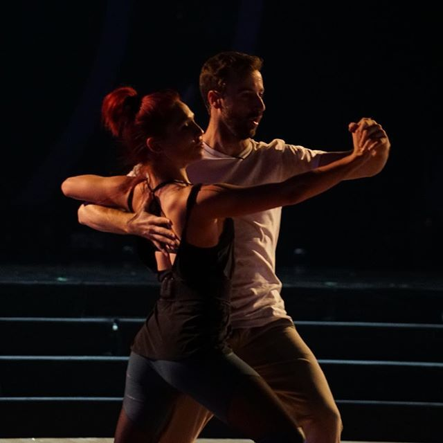 Game day! Time to Tango with @sharnaburgess. Tune in and VOTE 1-800-868-3405 or http://dwtsvote.abc.go.com/ #TeamStopAndGo #DWTS