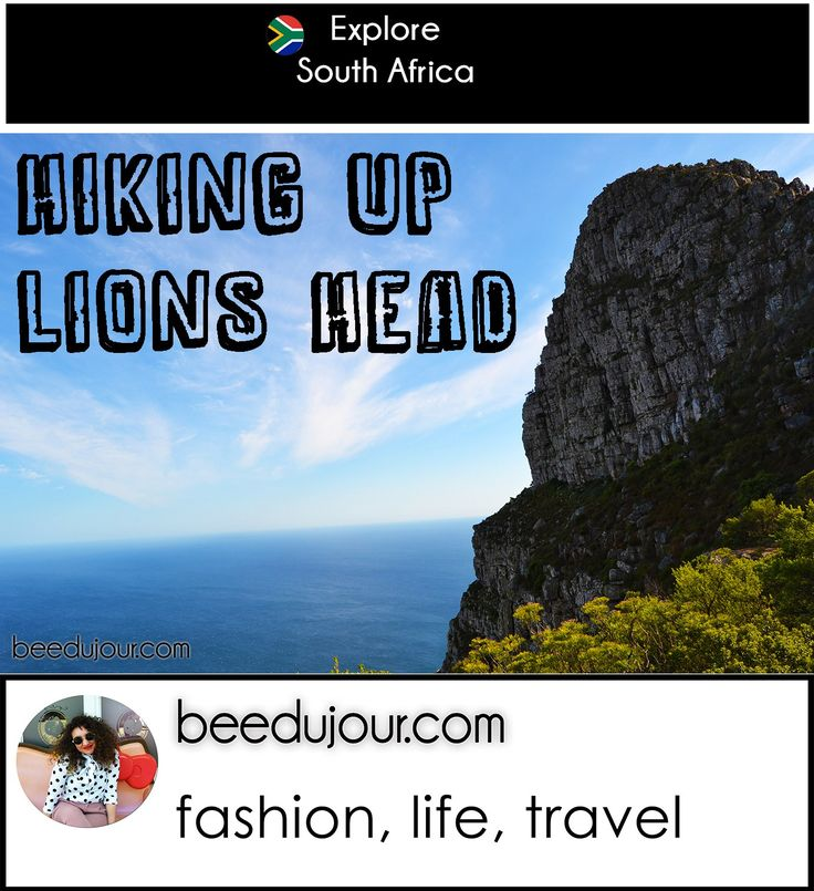 Hiking up Lion's Head