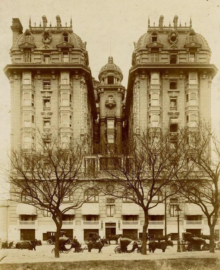 Twitter / AgnArgentina: Plaza Hotel, Buenos Aires, ...