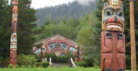 Totem park: Ketchikan, Alaska