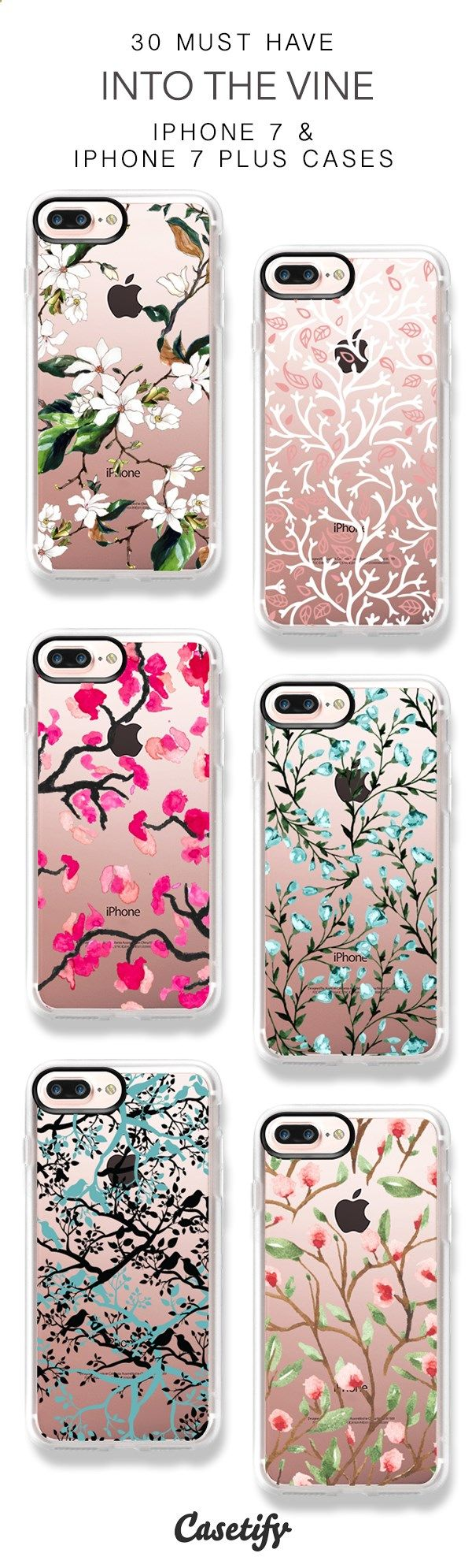 Phone Cases - 30 Most Popular Into The Vine iPhone 7 Cases and iPhone 7 Plus Cases. More Tree iPhone case here > www.casetify.com/...