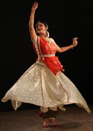 Kathak - Indian Classical Dance form, originated from Uttar Pradesh, India