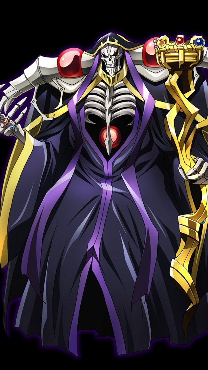 Ainz Momonga Anime, Good anime series, Dark warrior