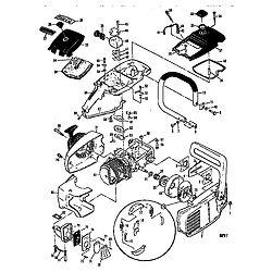 MCCULLOCH Mcculloch Chainsaw  parts diagram
