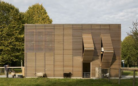 Petting Farm by 70F Architecture | CoolBoom
