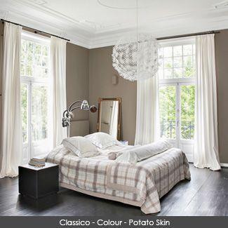 Classico Chalk Paint wall in the colour - Potato Skin #potatoskin #pureandoriginal #naturalpaint #natural #paint #chalkpaint #classico #interiordesign #interiorpaint #interiordesign #interiorinspiration #decorating #painting #vocfree #nontoxic