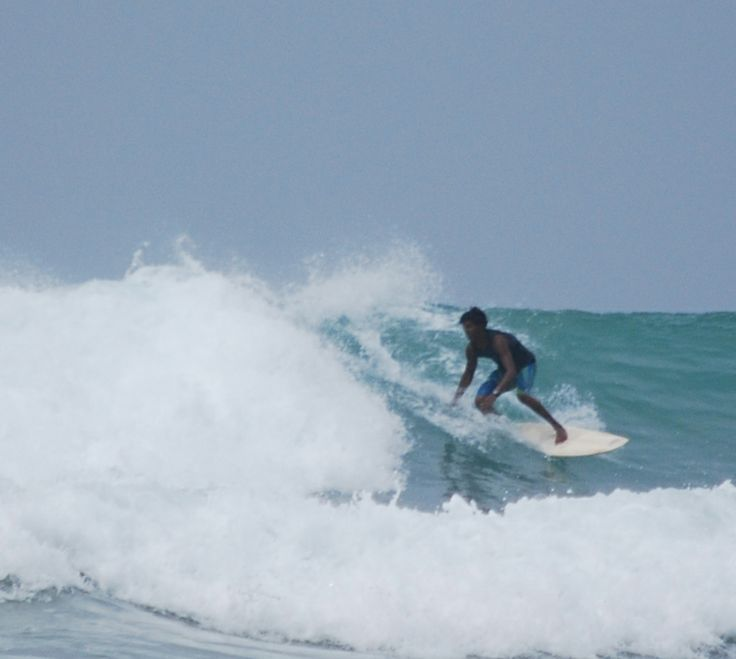 Midigama surfing competition 15-04-14