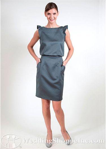 57 Grand Bridesmaid Dress Carmine - Visit Wedding Shoppe Inc. for designer bridal gowns, bridesmaid dresses, and much more at http://www.weddingshoppeinc.com