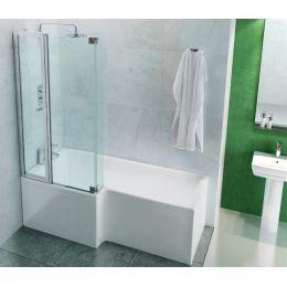 ClearGreen Ecosquare Contemporary Shower Bath
