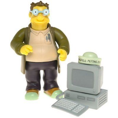 The Simpsons Series 16 Action Figure Doug toys [ parallel import goods ] @ niftywarehouse.com #NiftyWarehouse #TV #Shows #TheSimpsons #Simpsons