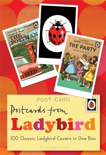 Postcards from Ladybird: 100 Classic Ladybird Covers in One Box by Ladybird http://www.amazon.co.uk/dp/140931152X/ref=cm_sw_r_pi_dp_LXmAub1RD10HQ