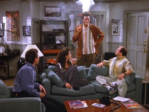 an analysis of cosmo kramer in the sitcom jerry seinfeld Richards played cosmo kramer, friend and neighbor of jerry in the show his was one of the four central characters, and for the role he won the primetime emmy award for outstanding supporting.