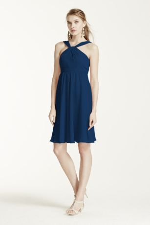 Since Brittney asked me to be a jr. Bridesmaid, this is the dress and color (marine). Great for any event and is $119.99