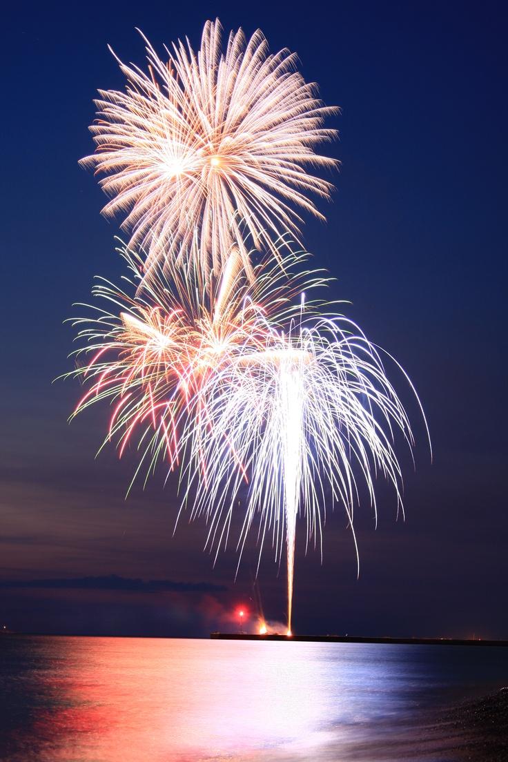 Kincardine Fireworks on July 1st