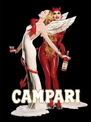 I co-created this Campari poster years ago with Chad Farmer and the fine folks at Lambesis