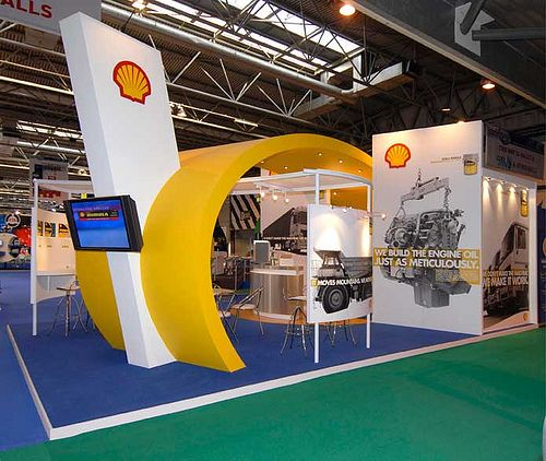 Shell Exhibition Kirkcaldy : Shell uk oil exhibit awesome trade show booths