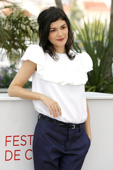 "Audrey Tautou at the ""Therese Desqueyroux"" Photocall at the Cannes Film Festival"