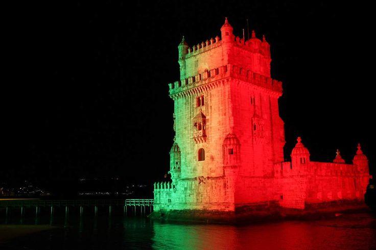 Portugal EURO 2016 WINNER   Torre de Bélem, Lisbon   Portugal
