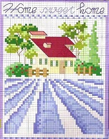 Lavender Home Sweet Home