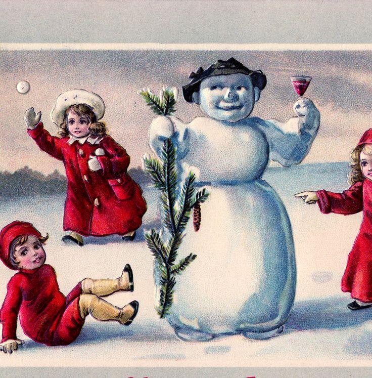 Cute Snowman Image!