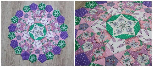 La passacaglia - english paper piecing