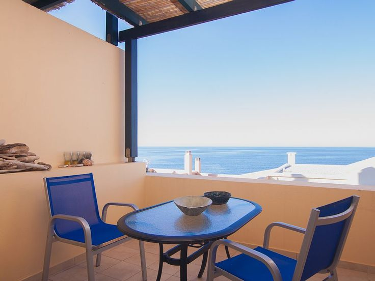 Panormos apartment rental - The sea view from the balcony is truly amazing!