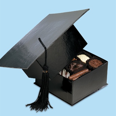 See's Graduation Hat - Yummy Gift #makingtheworldcuter
