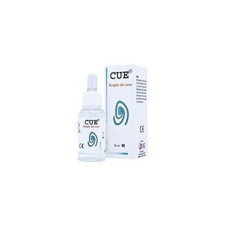 CUE ear drops 30ml, inner ear infection symptoms, ear drops for ear infection