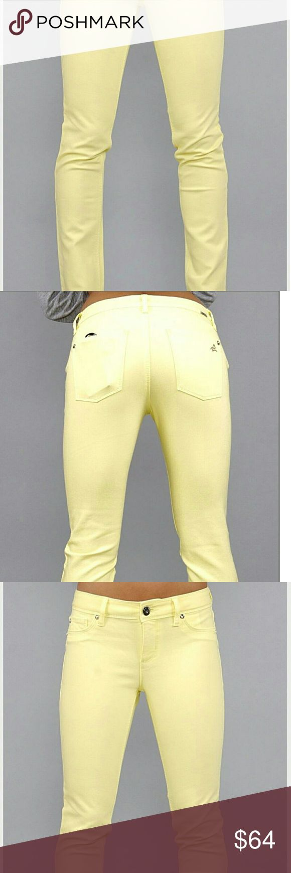 Selling this DL 1961 neon yellow angel skinny jeans size 25 on Poshmark! My username is: onefashionday12. #shopmycloset #poshmark #fashion #shopping #style #forsale #DL1961 #Pants
