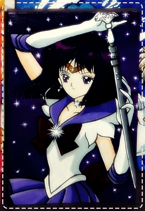 Tomoe Hotaru/ Sailor Saturn fan art Hand painted 20x30cm  #SailorMoon #SailorSaturn