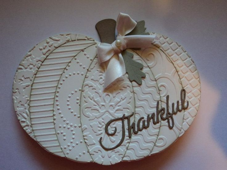 White Pumpkin Card by candee porter - Cards and Paper Crafts at Splitcoaststampers