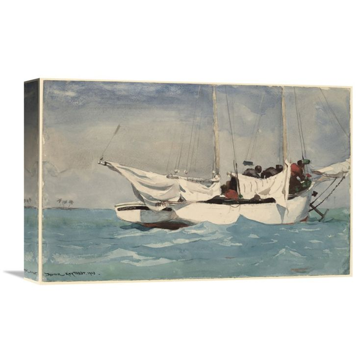 Global Gallery Key West Hauling Anchor Wall Art - GCS-373237-1218-142