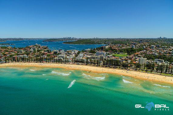 Manly Beach  Sydney Photos  Sydney Australia  by GlobalPixels