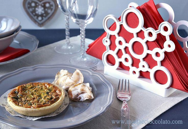 Mini Quiche con Broccolo Fiolaro e Lardo di Colonnata -
