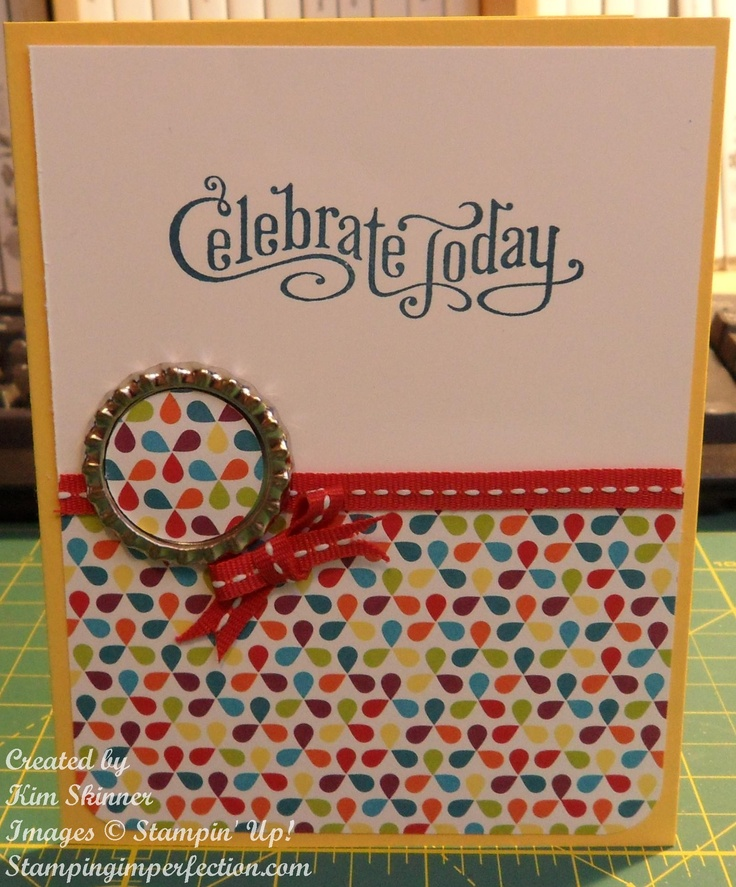 Stampin' Up! Perfectly Penned by Stamping Imperfection | See more about Stampin