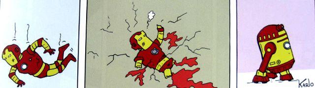 Cómic Universo Doppler   Tira cómica Autor: Karlo Formato rústico 80 páginas. Full color.
