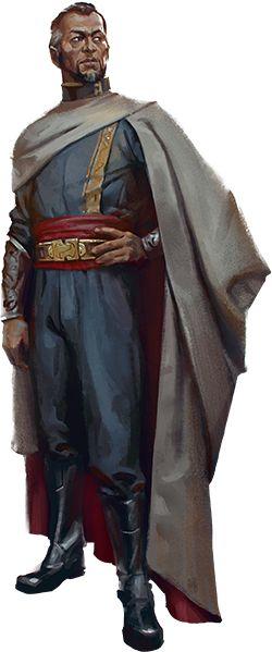 Gettio, concejero del alacalde del pueblo Trovitia
