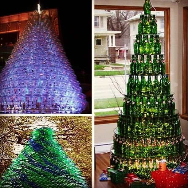 Recycled Plastic Christmas Tree: 19 Best Christmas Decorations Created With Recycled