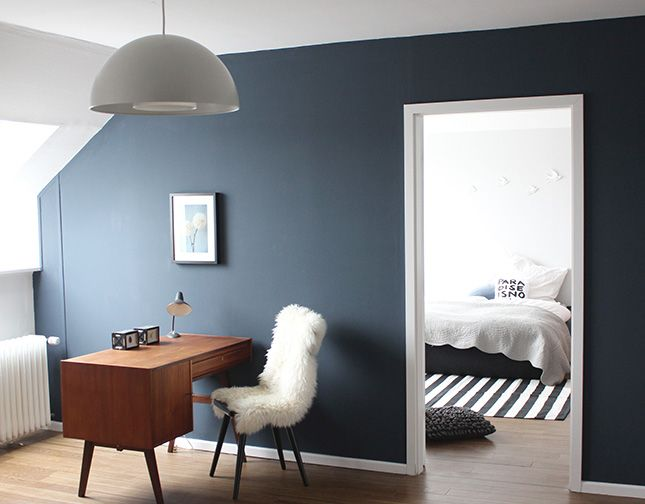 wonderful workspace and bedroom glimpse on ohwhataroom.de (photo by Karina)