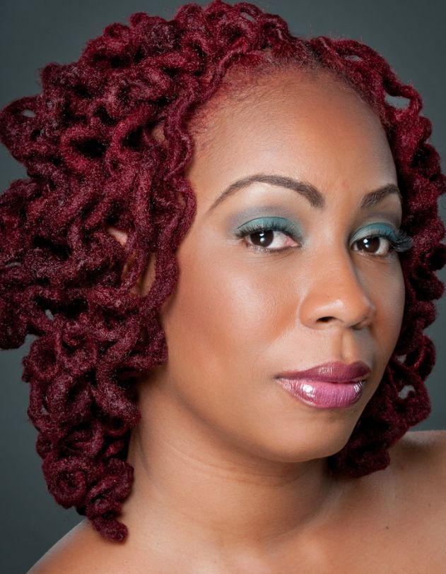 Marvelous 1000 Images About Colored Loc Ideas On Pinterest Black Women Hairstyles For Women Draintrainus