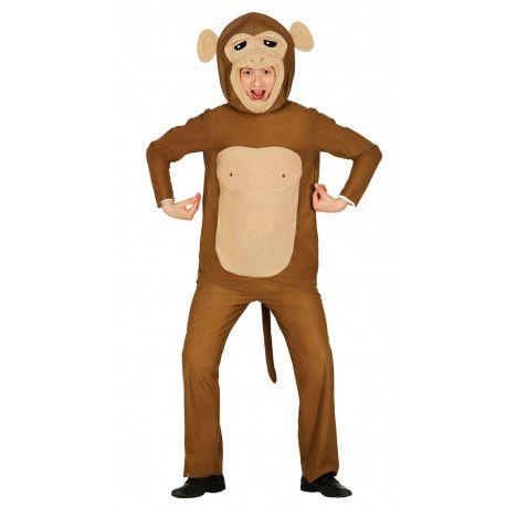 Disfraz de Mono Loco para Adulto  #Animales