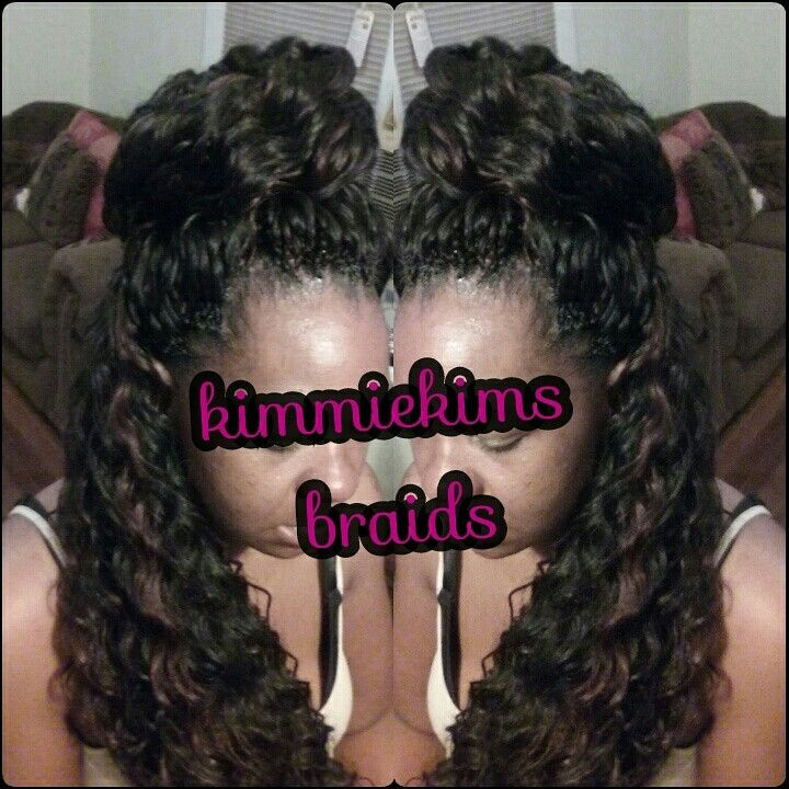 Crochet Hair Rollers : ... Crochet braids) on Pinterest Protective styles, Marley braids and