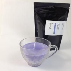 Teacup Candle. Lavender Infused.145  I am hand made with 100% SOY wax. My cup has been recycled / re-used / re-loved / re-newed / TEA-incarnated as a beautiful tea cup candle infused just for you. Included with me is a 50g bag of Tea